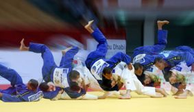 IJF Abu Dhabi Grand Slam 2016 Day 2 Recap & Photos