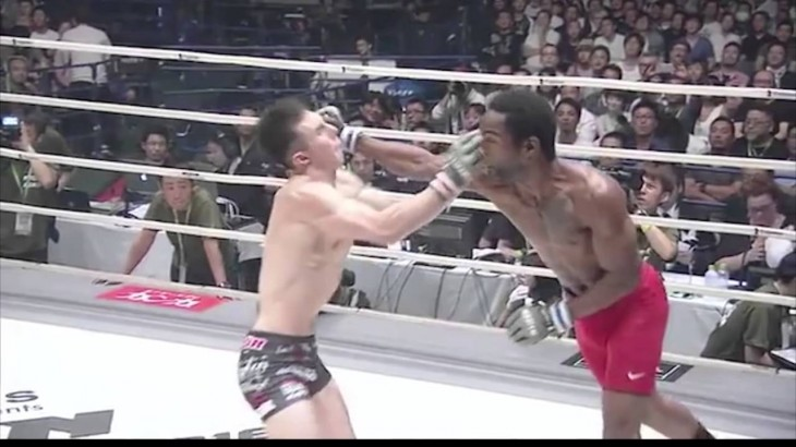 "Gabe's Video of the Week – Charles ""Krazy Horse"" Bennett at RIZIN FF on MMA Meltdown"