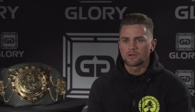 "GLORY 34 Denver: Nieky Holzken on Murthel Groenhart – ""He's Going to Be Knocked Out. He Knows a Storm is Coming"""