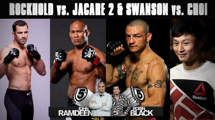 "Luke Rockhold vs. Ronaldo ""Jacare"" Souza 2 & Cub Swanson vs. Doo Ho Choi Preview on 5 Rounds"
