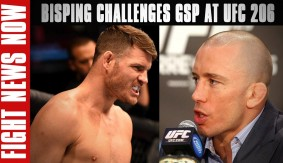 Michael Bisping Teasing Bout vs. Georges St-Pierre at UFC 206 on Fight News Now