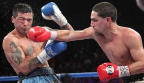 Round 11 of Danny Garcia vs. Lucas Matthysse for WBC/WBA Super Lightweight Title from Sept. 14, 2013