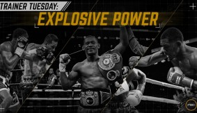 Training Power with WBA Middleweight Champ Daniel Jacobs' Trainer Dave Honig