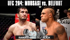 UFC 204: Gegard Mousasi vs. Vitor Belfort Preview on 5 Rounds