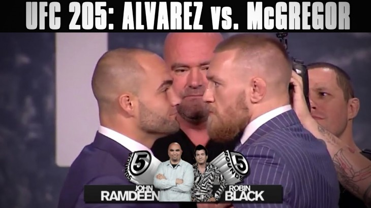 UFC 205: Eddie Alvarez vs. Conor McGregor Preview on 5 Rounds