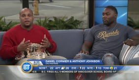 UFC 206: Daniel Cormier & Anthony Johnson on Breakfast Television