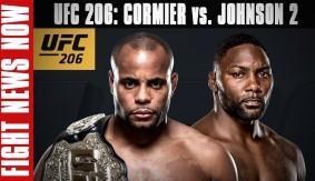 UFC Fight Night Manila Cancelled, UFC 206: Cormier vs. Johnson 2 on Fight News Now