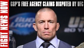 UFC Refutes Georges St-Pierre's Free Agency Status on Fight News Now