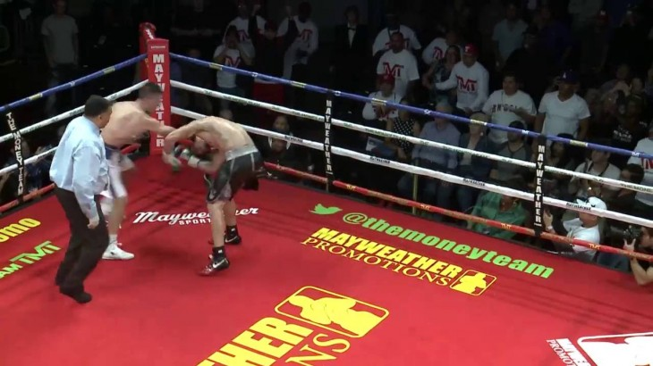 Video Highlights – Ronald Gavril's Knockout of Christopher Brooker at Sin City Showdown on Oct. 8, 2016