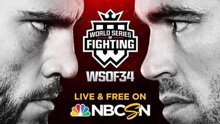 WSOF 34: Fitch vs. Shields, Copeland vs. Rama & Bradley vs. Okami Set For Nov. 12 LIVE on Fight Network
