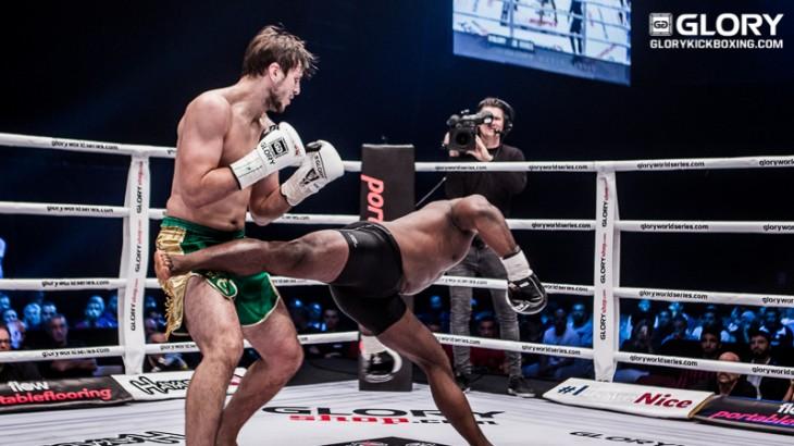GLORY 35 Nice Results: Artem Vakhitov Unifies LHW Title By Stopping Zack Mwekassa, Benjamin Adegbuyi Wins HW Tournament