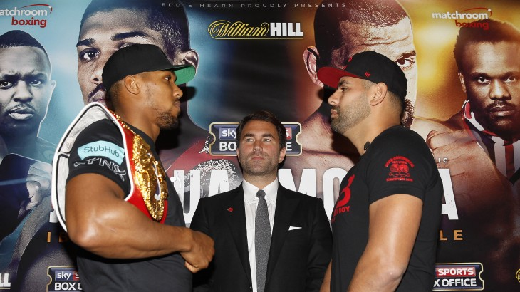 "Eric Molina Q&A Ahead of Anthony Joshua Bout – ""Before I Fought Wilder I Had 35 Days to Train"""