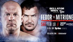 Fedor Emelianenko vs. Matt Mitrione Set For Bellator 172 on Feb. 18 in San Jose