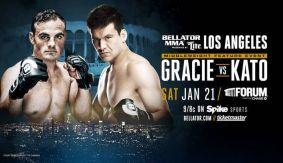 Ralek Gracie Makes Bellator Debut vs. HIsaki Kato at Bellator 170 on Jan. 21