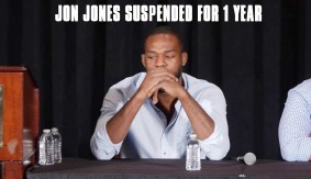 Jon Jones Suspended 1 Year by USADA for UFC 200 Positive Drug Test
