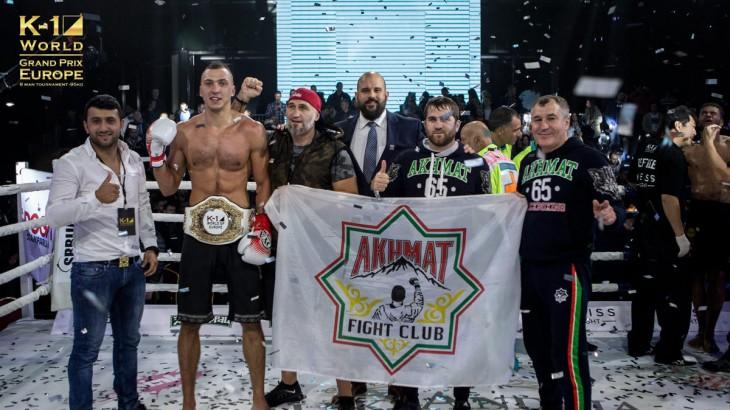 Roman Kryklia Wins K-1 World Grand Prix Euro 95kg Tournament in Belgrade
