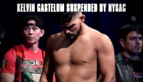 Kelvin Gastelum Suspended 6 Months for UFC 205 Weigh-in No-Show