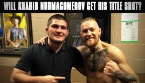 Khabib Nurmagomedov Calls for UFC Title Shot vs. Conor McGregor