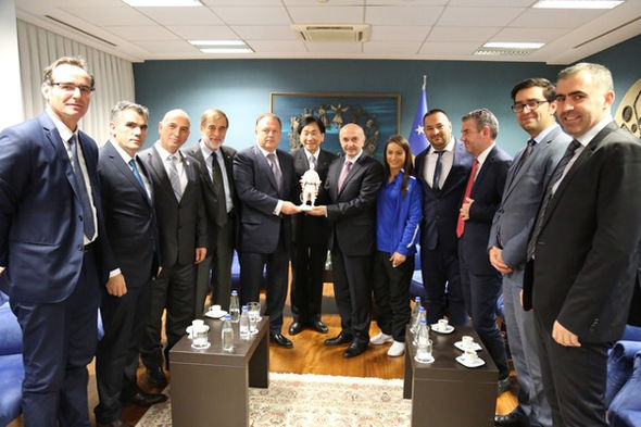 IJF President Marius Vizer Honoured as Kosovo Celebrates 2nd Anniversary of IOC Membership