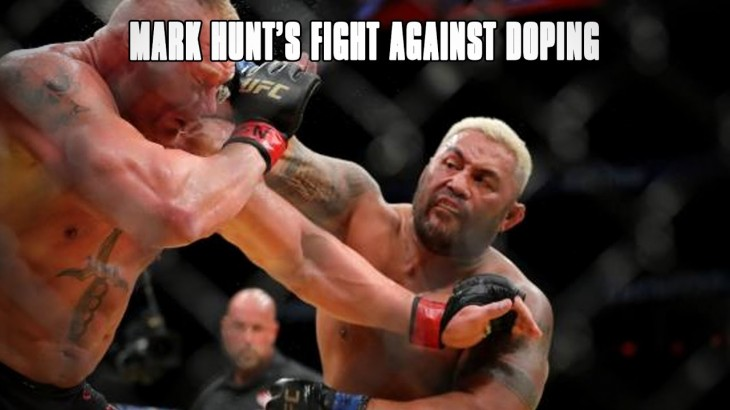 Mark Hunt's Fight Against Doping with John Pollock and Cody Saftic