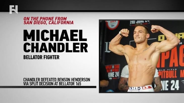 Michael Chandler Previews UFC 207: Dominick Cruz vs. Cody Garbrandt