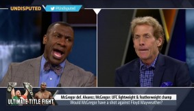 Skip Bayless and Shannon Sharpe Debate Floyd Mayweather vs. Conor McGregor