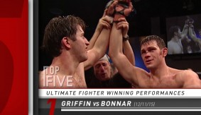Top 5 – The Ultimate Fighter Winning Performances
