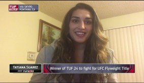 TUF 24 Winner Tatiana Suarez on Upcoming Debut at UFC Fight Night Albany LIVE on Fight Network