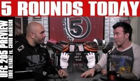 UFC 205: Alvarez vs. McGregor Preview on 5 Rounds Today