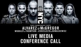UFC 205: Eddie Alvarez vs. Conor McGregor Media Conference Call