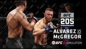 UFC 205: History Made – EA Sports UFC 2 Simulation – Alvarez vs. McGregor