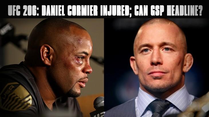 UFC 206: Daniel Cormier Out; Could Georges St-Pierre Headline?