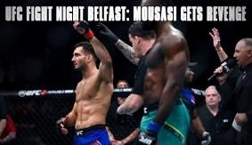 UFC Fight Night Belfast Recap: Gegard Mousasi Gets Revenge on Uriah Hall