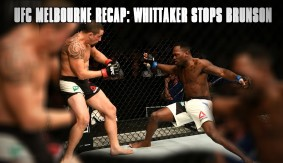 UFC Fight Night Melbourne Recap: Robert Whittaker Stops Derek Brunson