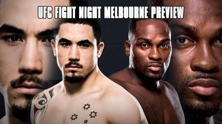UFC Fight Night Melbourne: Robert Whittaker vs. Derek Brunson – Fight Network Preview