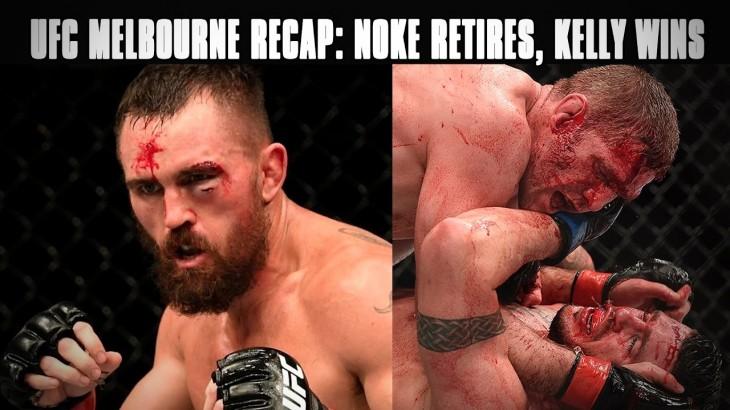 UFC Fight Night Melbourne Recap: Kyle Noke Retires, Daniel Kelly's Big Win & More