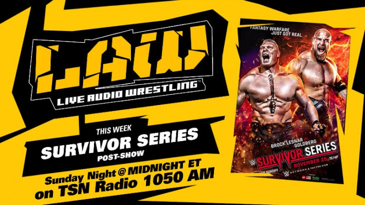 Nov. 20 Edition of The LAW – WWE Survivor Series, NXT Takeover Post Show