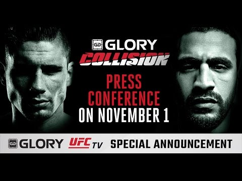 Video Replay – GLORY 36 Collision: Verhoeven vs. Hari Press Conference