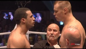 Watch Badr Hari Knock Out Semmy Schilt to Claim It's Showtime Heavyweight Title from May 16, 2009
