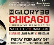 Artem Vakhitov vs. Saulo Cavalari Rubber Match Headlines GLORY 38 Chicago on Feb. 24