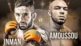 Matt Inman vs. Karl Amoussou Set For CWFC Middleweight Title at Cage Warriors 80 on Feb. 18 in London