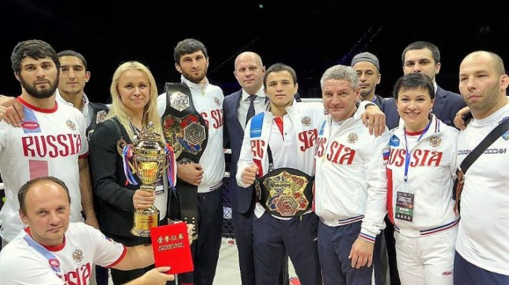 Russia Sweeps Golds at 2016 World MMA Championship in Macau