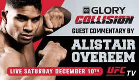 Alistair Overeem Joins GLORY: Collission as Guest Broadcast Analyst
