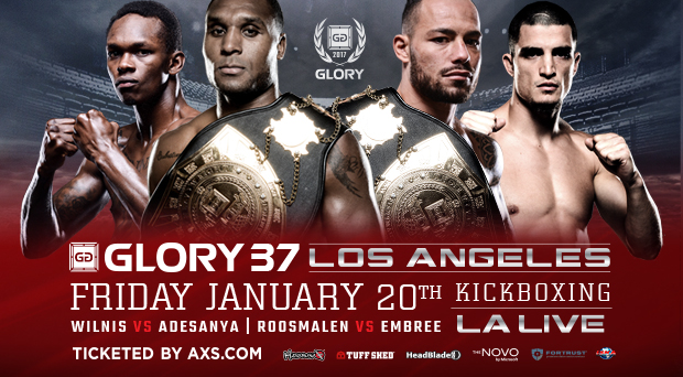 GLORY 37 Los Angeles & SuperFight Series – Watch LIVE Fri. at 11 p.m. ET on Fight Network Canada