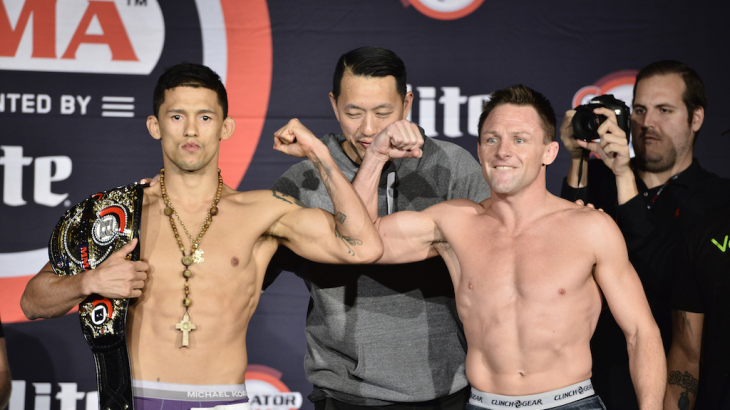 Bellator 166 Weigh-in Results, Video Replay & Photos