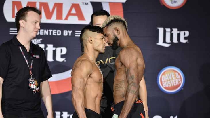 Bellator 167 Weigh-in Results, Video Replay & Photos