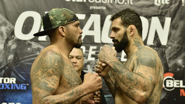 Bellator 168: Sakara vs. Beltran Weigh-in Results, Video Replay & Photos