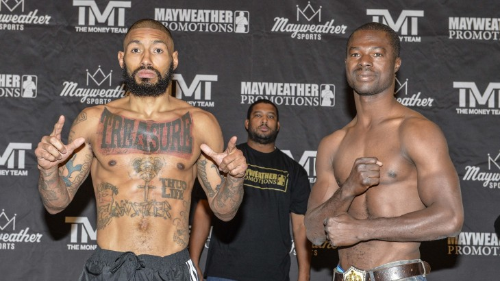 Sin City Showdown: Theophane vs. Amidu Weigh-in Results & Photos