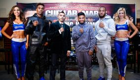 Jesus Cuellar vs. Abner Mares & Jermall Charlo vs. Julian Williams Final Press Conference Quotes & Photos