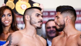 Showtime Boxing: Cuellar vs. Mares Weigh-in Results & Photos